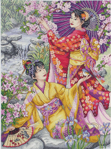 Geishas Cross Stitch Kit