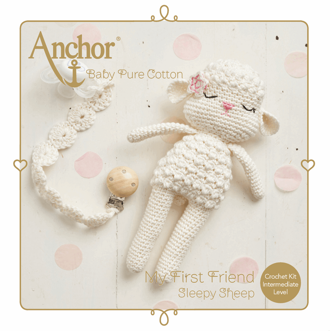 Amigurumi Sheep Crochet Kit