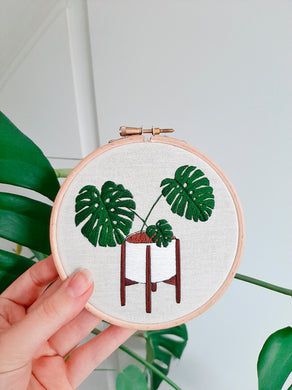 Monstera Love ~ Downloadable PDF
