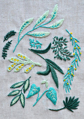 Green Leaves ~ Downloadable PDF