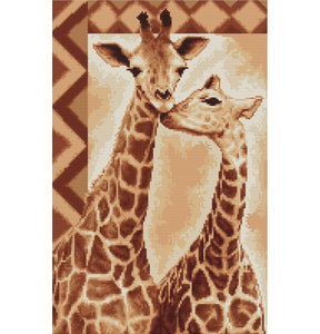 Giraffe Cross Stitch Kit