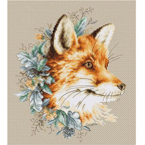 The Fox Cross Stitch Kit