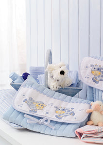 Blue Cow & Sheep ~ Baby ~ Downloadable PDF