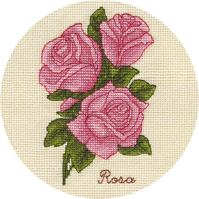 Small Bunch of Roses Cross Stitch Kit