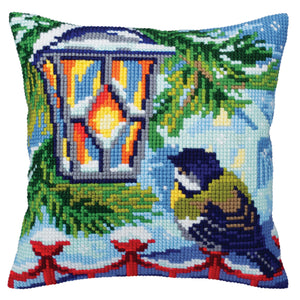 Before Christmas Cross Stitch Cushion Front Kit
