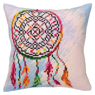 Dreamcatcher Cross Stitch Cushion Front Kit