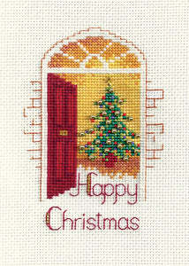 Warm Welcome - Christmas Card Cross Stitch Kit