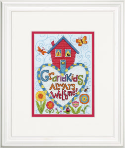 Grandkids Cross Stitch Kit