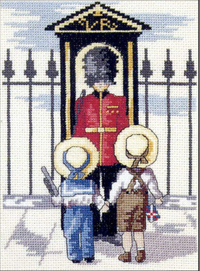 Palace Guard Cross Stitch Kit