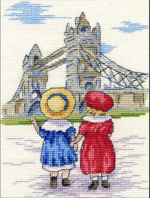 Tower Bridge Cross Stitch Kit