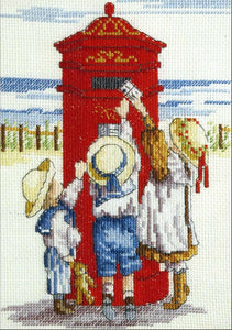 Tippy Toes Cross Stitch Kit