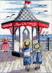 Pier Shop Cross Stitch Kit
