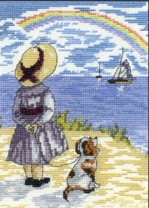 Rainbows Cross Stitch Kit