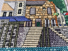 Load image into Gallery viewer, Fowey Harbour Cross Stitch Kit