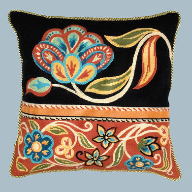 Persian Flowers Red - Tapestry / Needlepoint Kit