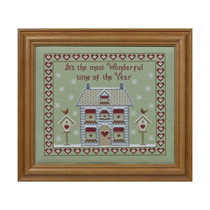It's the Most Wonderful Time of the Year Cross Stitch Kit