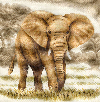 Giant (Elephant) Cross Stitch Kit