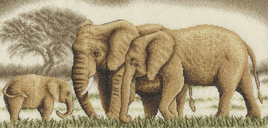 Wonderful Family (Elephants) Cross Stitch Kit