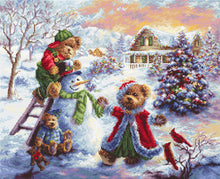 Load image into Gallery viewer, Fun Loving Merriment Cross Stitch Kit