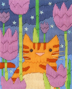Tiger (Cats) Long Stitch Kit