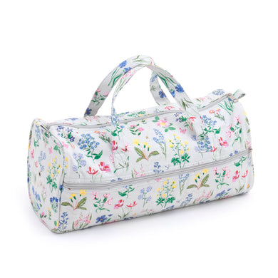 Knitting Bag (Fabric Handles) - Spring Garden