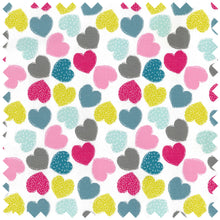 Load image into Gallery viewer, Knitting Bag (Fabric Handles) - Love Hearts