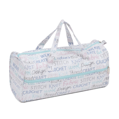 Knitting Bag (Fabric Handles) - Haby Words