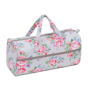 Knitting Bag (Fabric Handles) - Rose