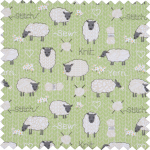 Knitting Pin Case ~ Sheep
