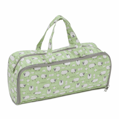 Knitting Bag with Pin Case - Sheep