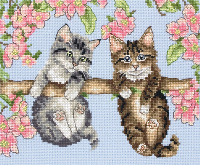 Hanging Around Cross Stitch Kit