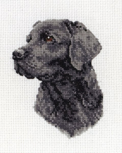 Labrador Cross Stitch Kit