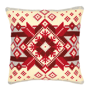 Geometric Cross Stitch Cushion Front Kit