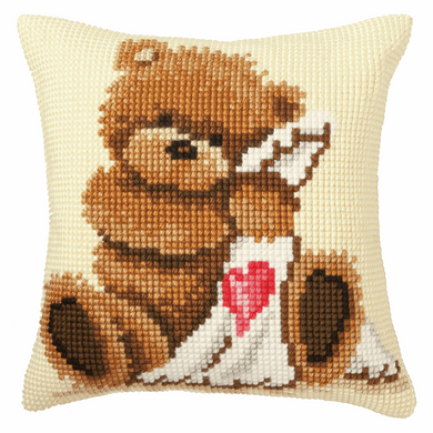 Popcorn - Good Night - Cross Stitch Cushion Front Kit