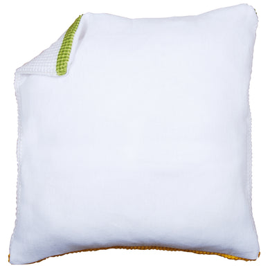 Cushion Back - White without Zipper - 45cm x 45cm