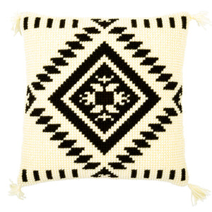 Ethnic Print Cross Stitch Cushion Front Kit