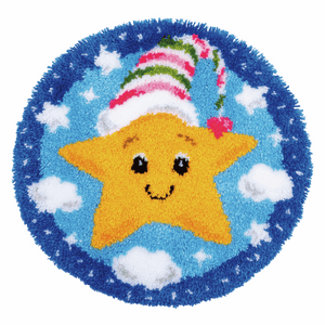 Little Star Latch Hook Rug Kit