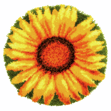 Sunflower Latch Hook Rug Kit