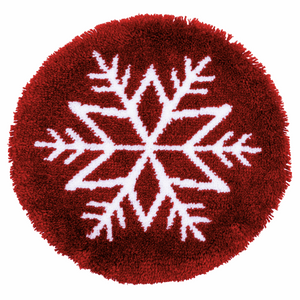 Ice Star Latch Hook Rug Kit