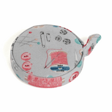 Load image into Gallery viewer, Medium Sewing Box, Pin Cushion, Tape Measure and Scissors in Case - Stitch In Time - Matching Set