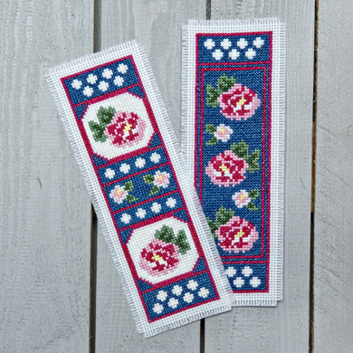 Twilight Roses Bookmark Cross Stitch Kit
