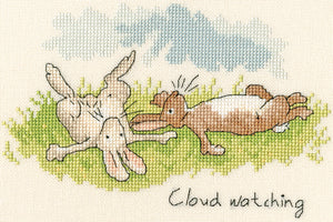 Cloud Watching Cross Stitch Kit