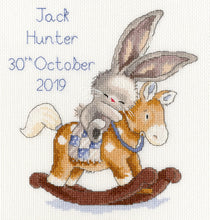 Load image into Gallery viewer, Rock a Bye Bunny Bebunni Cross Stitch Kit