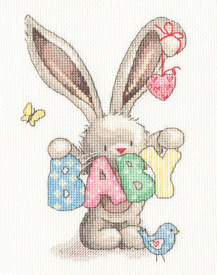 Bebunni ~ Baby ~ Cross Stitch Kit