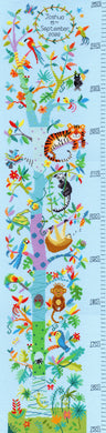 Tropical Height Chart Cross Stitch Kit
