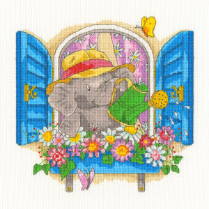 Elly - Bloomin' Lovely - Cross Stitch Kit