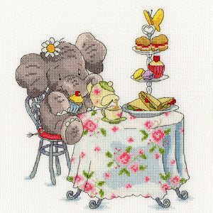 Elly - One for Tea? Cross Stitch Kit