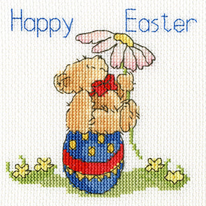 Easter Teddy Cross Stitch Kit