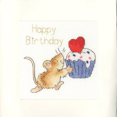 Sprinkles on Top Cross Stitch Kit - Greetings Card
