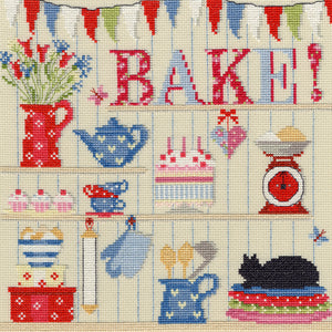 Bake Cross Stitch Kit
